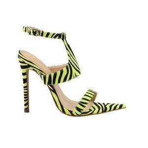 Zebra Neon heel